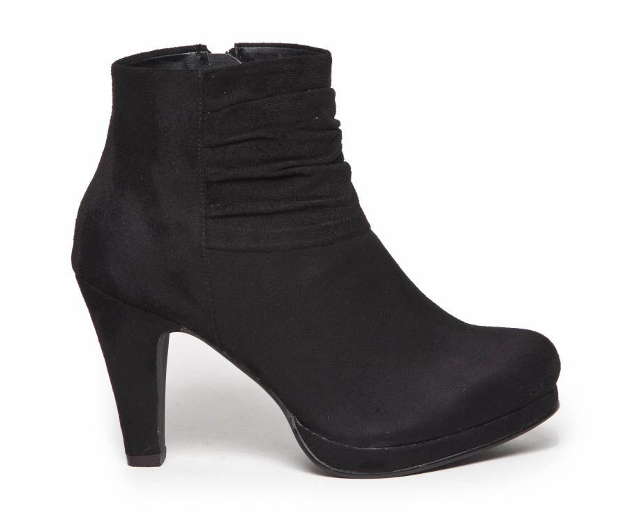 8d0b7f8ad868 Duffy sort ankelstøvle med hæl. Køb ankelstøvle Her