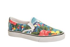 Duffy slip-on, multiprint