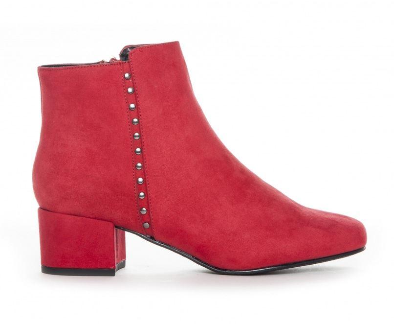 a80382f1 Duffy ankelstøvle i rød. Køb røde støvler Nu