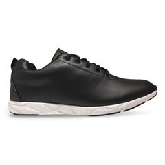 Oill sneakers Neo Slender, læder-look, sort