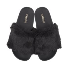 The White Brand - Fur, slippers m/pels