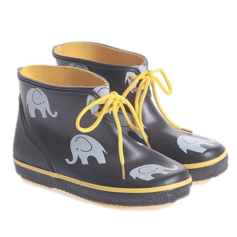42d008c12cf Celavi lav sort/gul gummistøvler. Køb gummistøvler Her