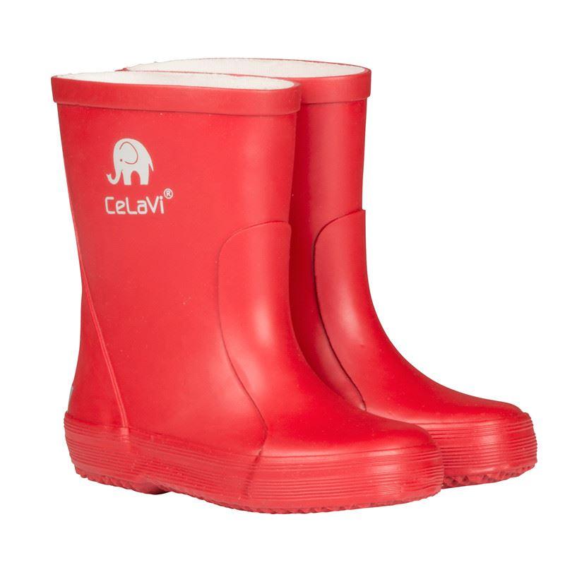65e6a00c16a Gummistøvler fra Celavi - røde gummistøvler. Køb her
