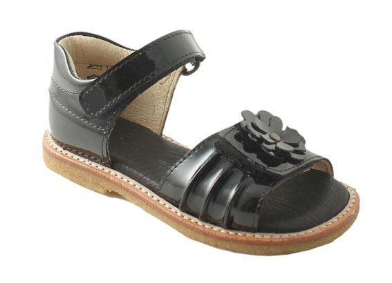 arauto rap pigesandal sort lak netsko sko b rnesko damesko sandaler sommersandaler. Black Bedroom Furniture Sets. Home Design Ideas