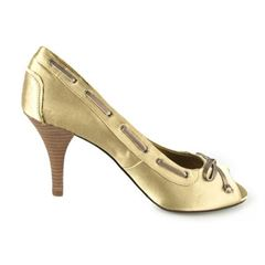 Replay Bea Lifes peep toe stilet, damesko, guld